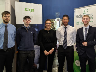 Ex-pupils now working at Solutions for Accounting